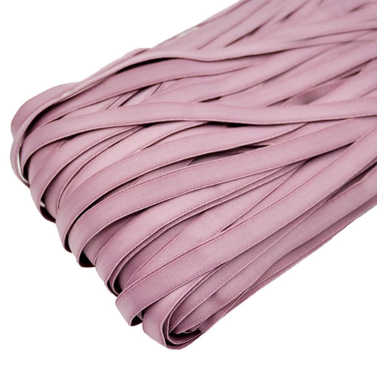STP/56 эластичная бретелечная лента 12мм*50м, розовато-лиловый