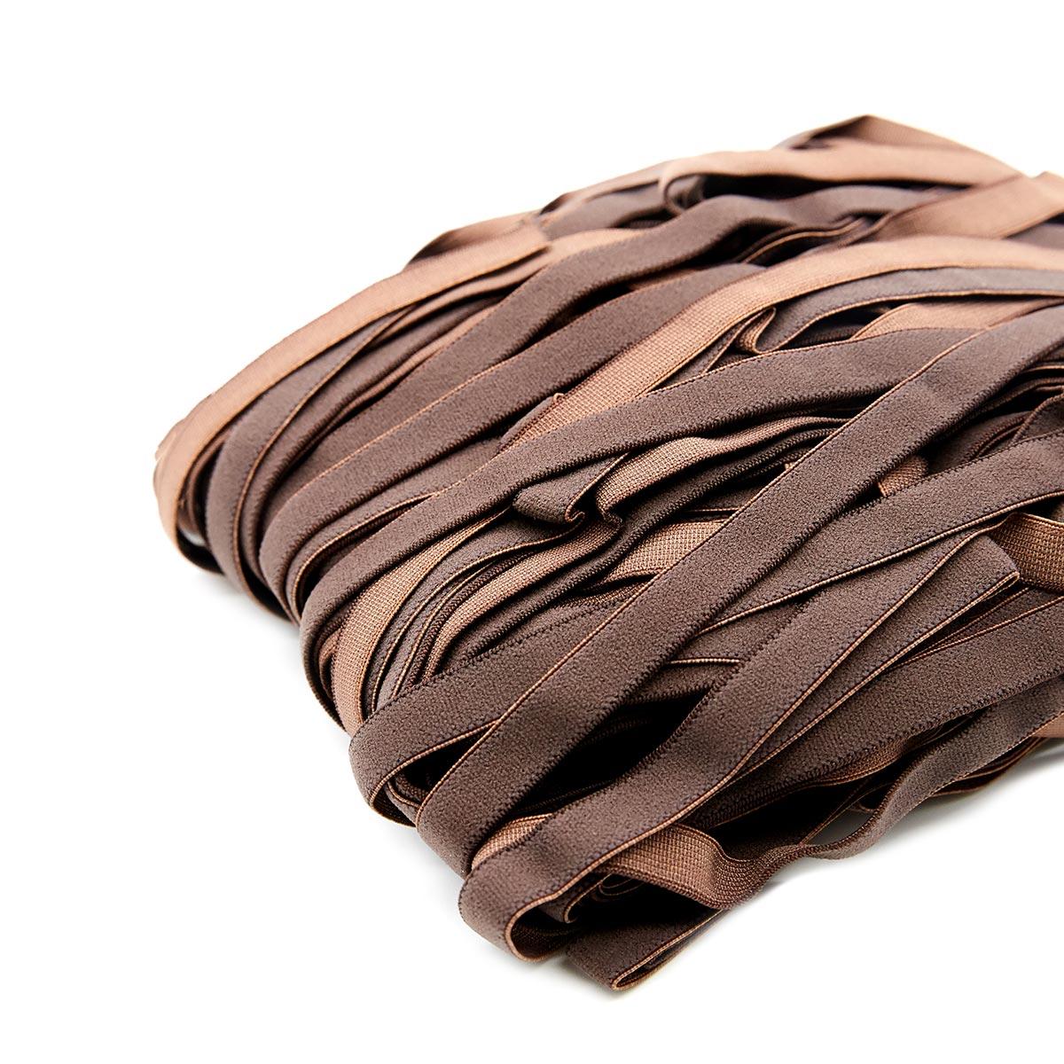 STP/78 эластичная отделочная лента 10мм*50м, коричневый