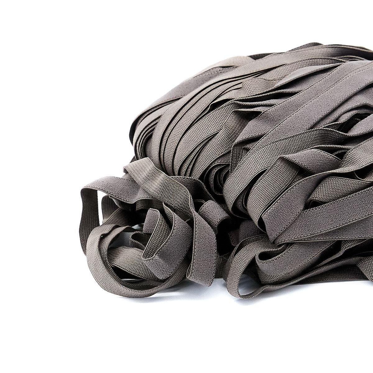 STP/81 эластичная отделочная лента 10мм*50м, серо-коричневый