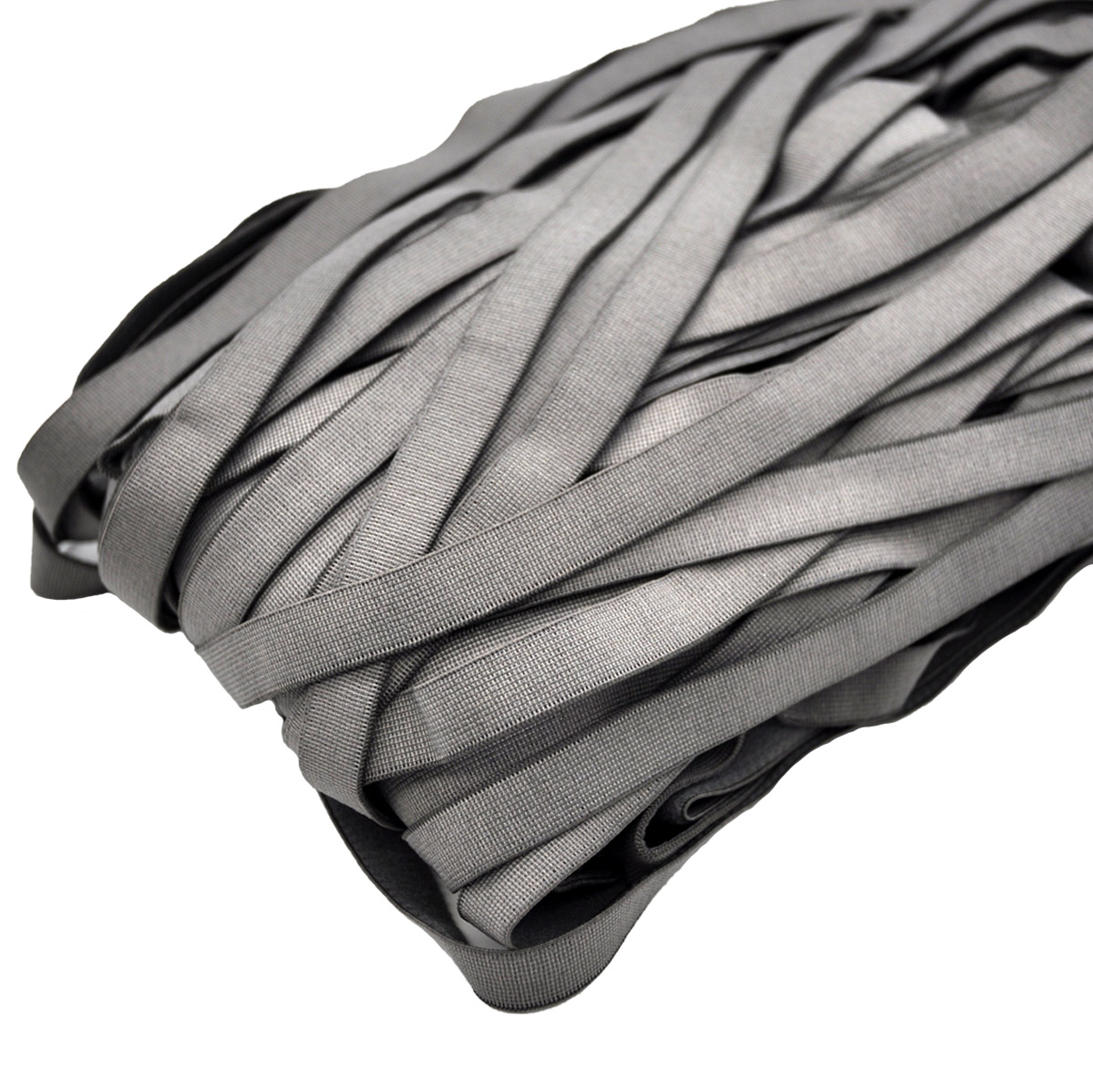 STP/82 эластичная отделочная лента 10мм*50м, св. серый