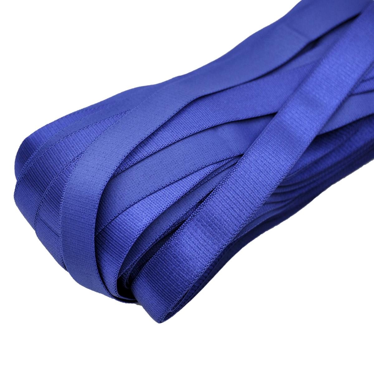 STP/90 эластичная бретелечная лента 18мм*25м, синий