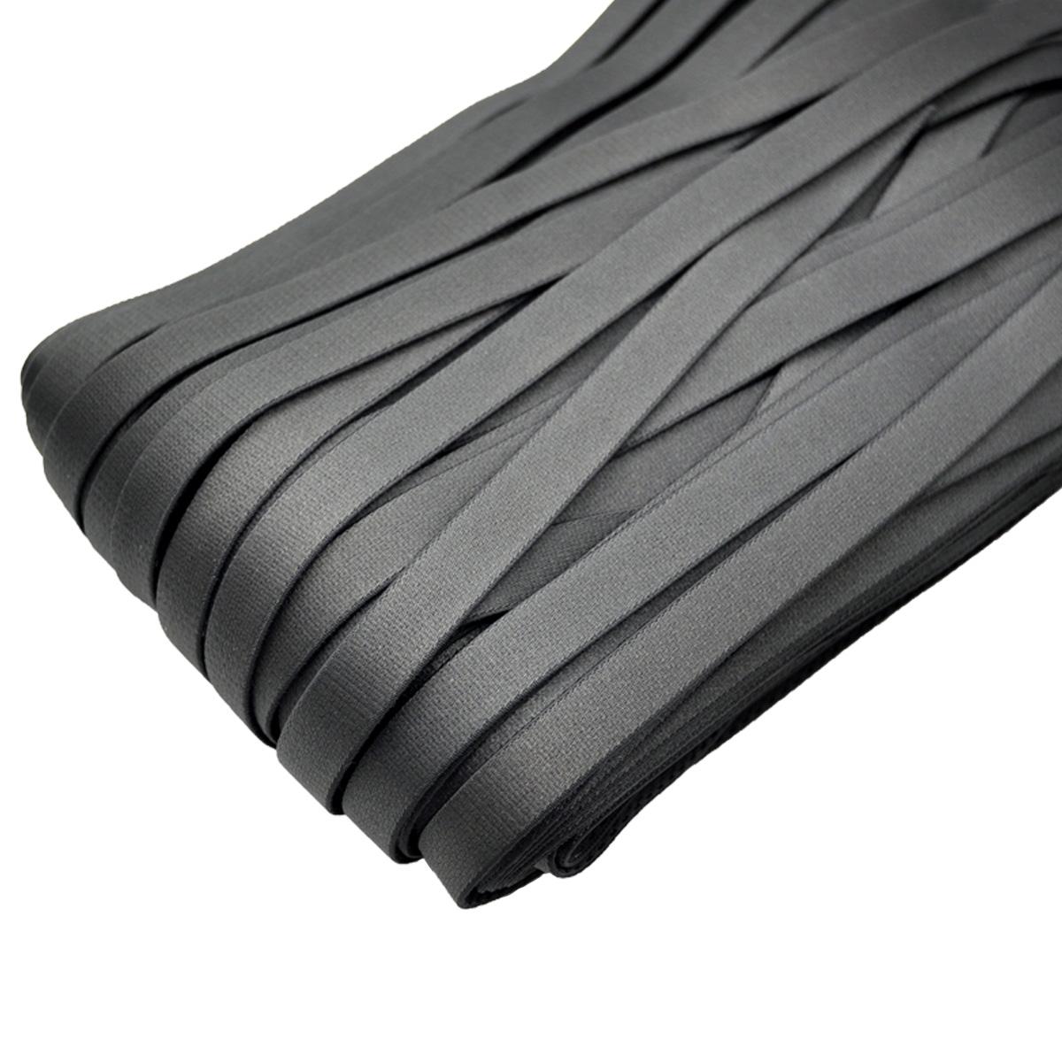 STP/93 эластичная бретелечная лента 12мм*50м, черно-коричневый