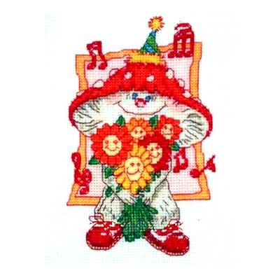 210-888 PAKO Набор для вышивания 13х17 см