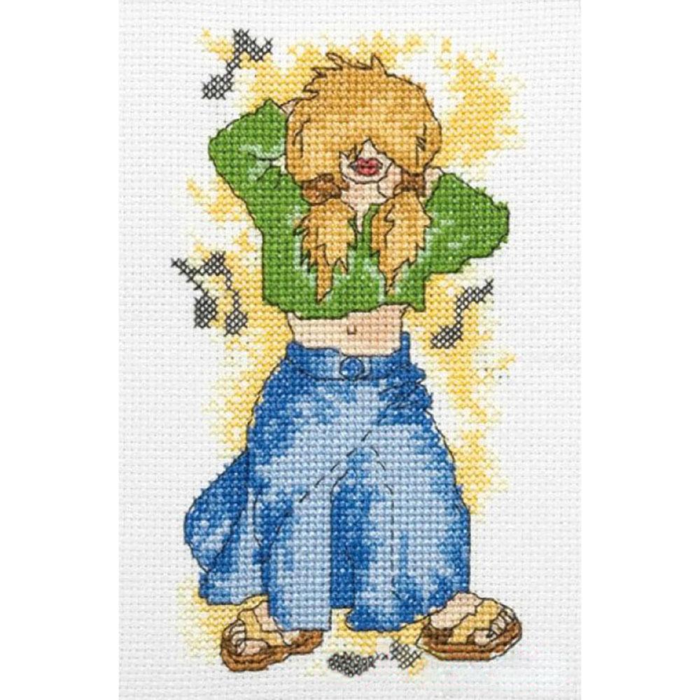 210-892 PAKO Набор для вышивания 13х17 см