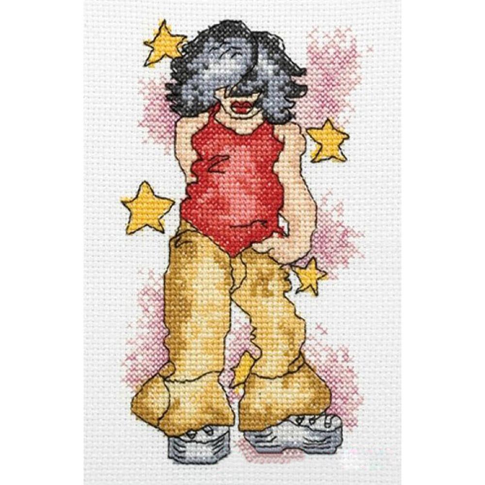 210-890 PAKO Набор для вышивания 13х17 см