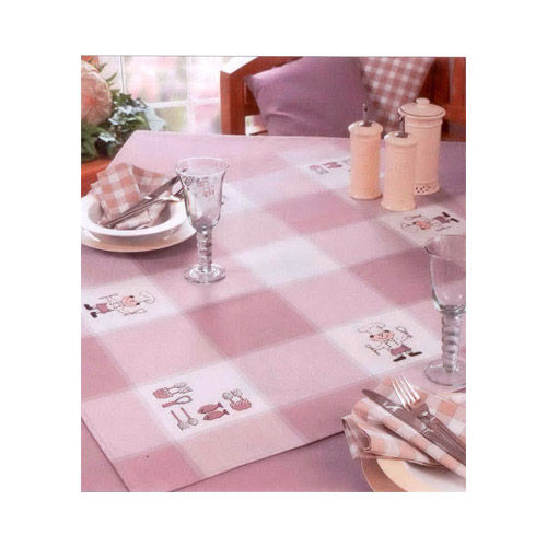 77969-52-21 RICO DESIGN Набор для вышивания салфетка 90х90 см