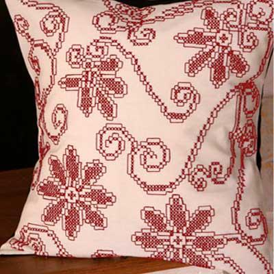 10-615-AA10 DUFTIN Набор для вышивания подушка 40х40 см