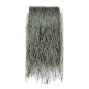 1002-003 MONDIAL Мех искусственный 'Волк' 80% акрил, 20% п/э, 12х160 см