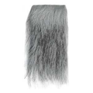 1002-002 MONDIAL Мех искусственный 'Волк' 80% акрил, 20% п/э, 12х160 см