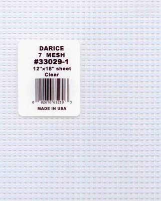 33029-1 DARICE Канва пластиковая №7, 30х45 см, цвет прозрачный