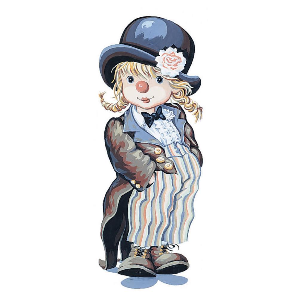 9880-0137-0097-1 Канва с рисунком Royal Paris 'Все дело в шляпе' 49х19 см