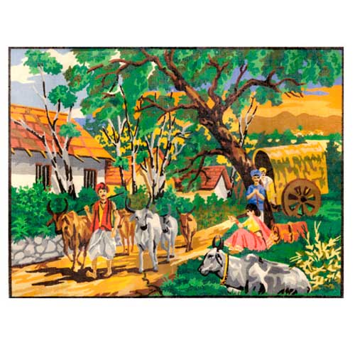 SCR-283 АНКОР Индия Канва с нанесенным рисунком
