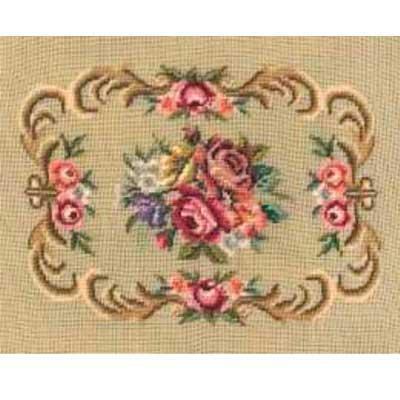 mw-80119-1823-mf MARTIN WINKLER Канва для вышивания с вышитым дизайном 45х57 см