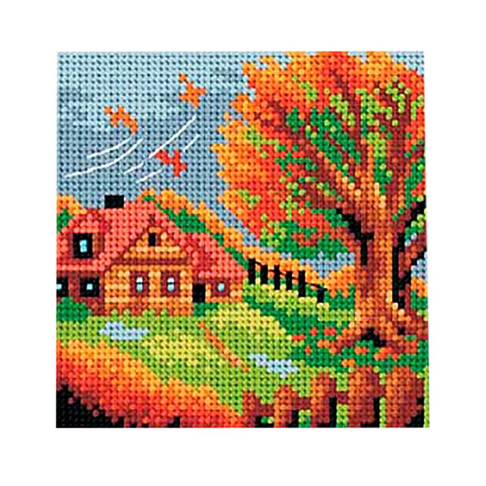 2478D ORCHIDEA Канва с нанесенным рисунком 15x15 см