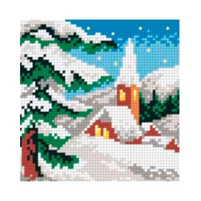 5012 ORCHIDEA Набор для вышивания 13,5х13,5 см