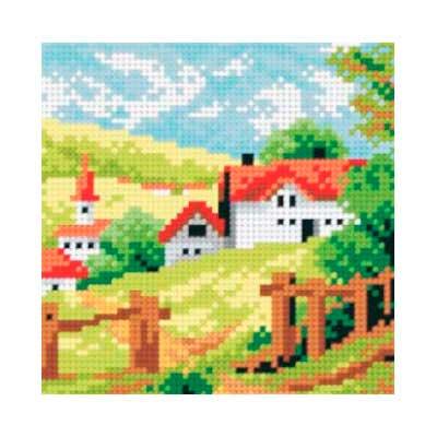 5011 ORCHIDEA Набор для вышивания 13,5х13,5 см