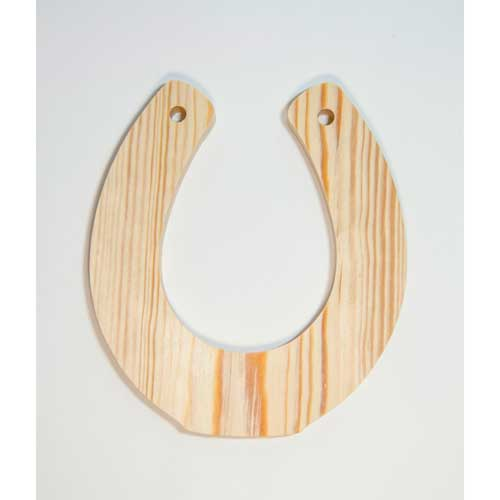 ПР-05 ПРОМЫСЕЛ Заготовка деревянная 'Подкова' 21х15,5 см