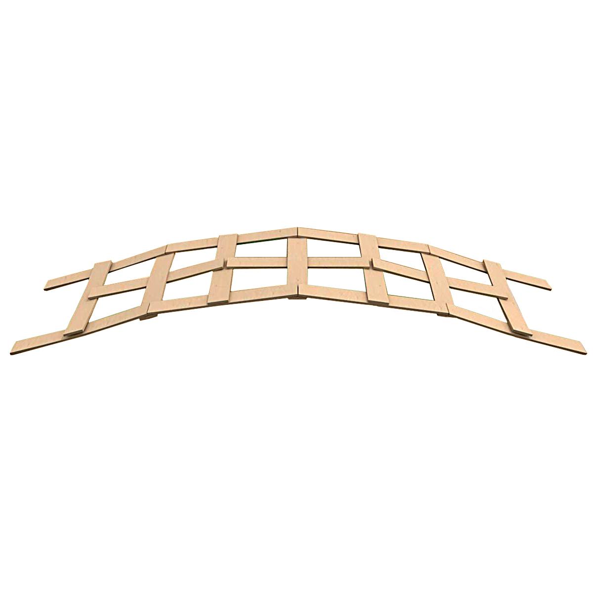 НПР-1 ПРОМЫСЕЛ Набор игровой 'Мост Леонардо' 42 плашки