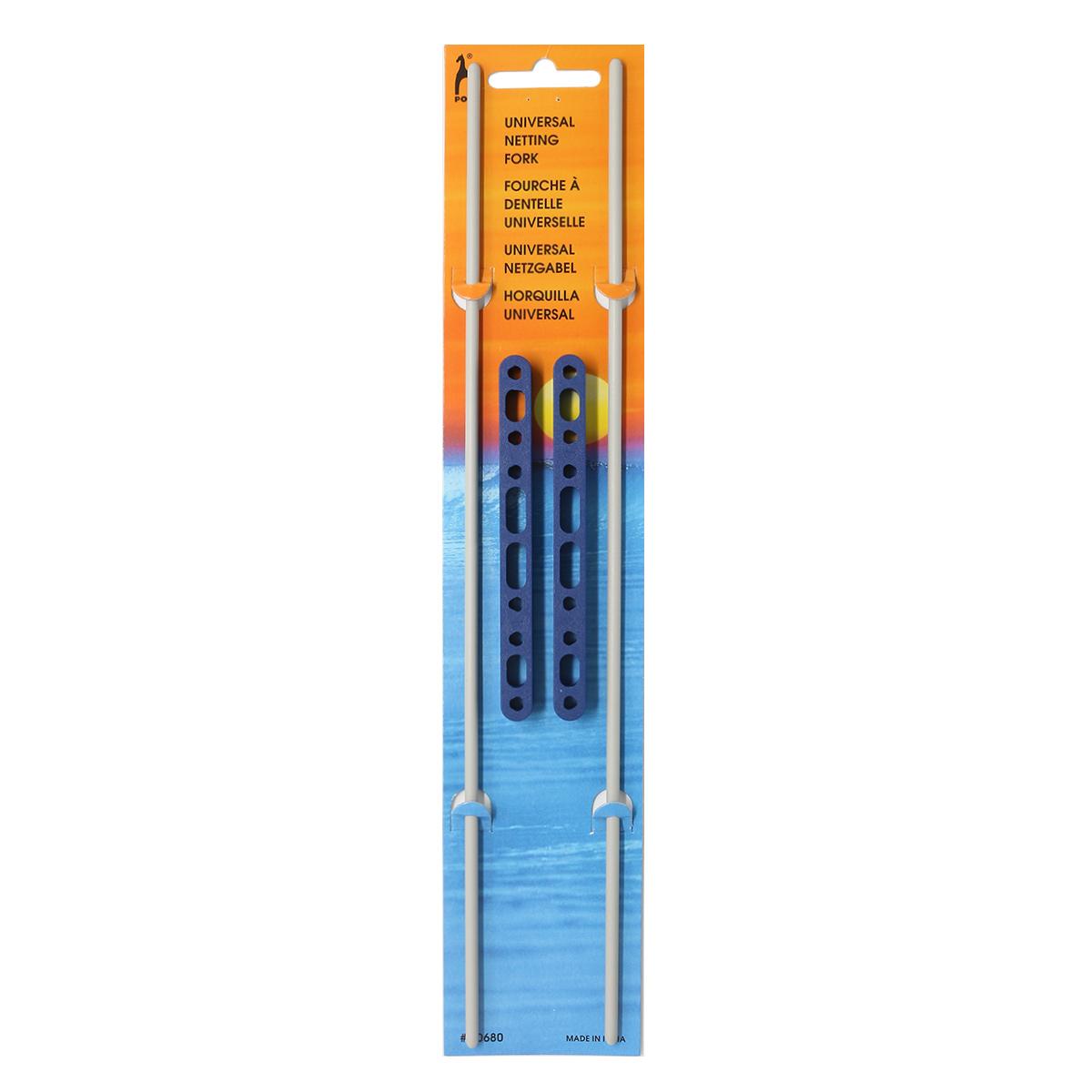 60680 Вилка для вязания универсальная 20-100 мм, алюминий PONY