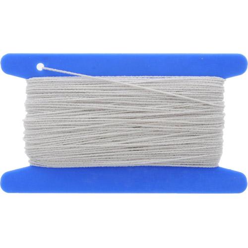 53301 Резинка вязальная 0,4 мм/20 м, белая PONY