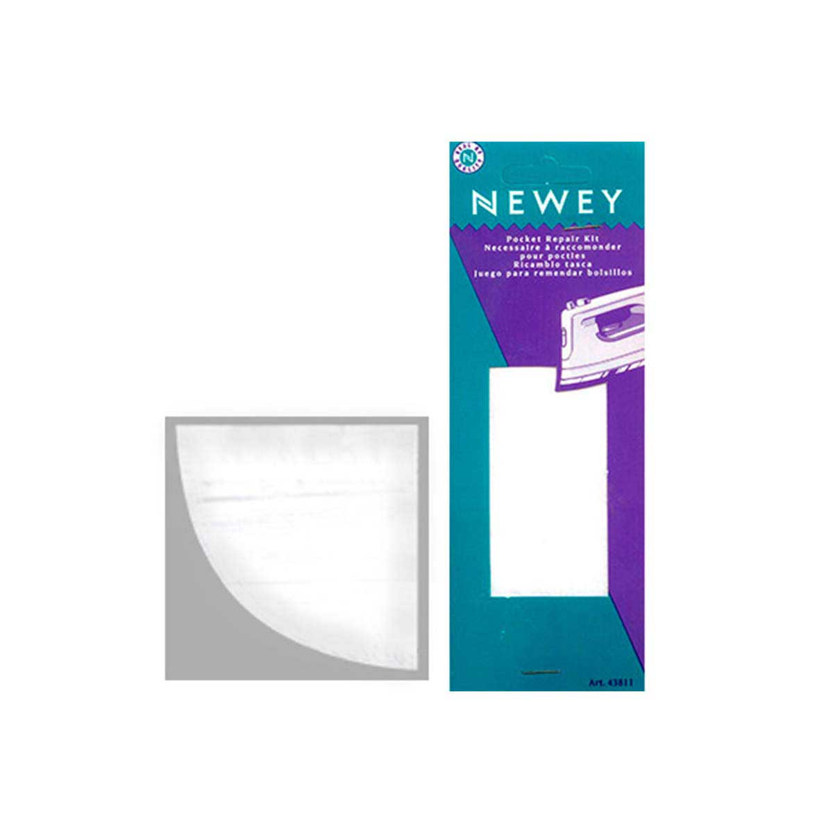 43811 NEWEY Основа для ремонта кармана, цвет белый