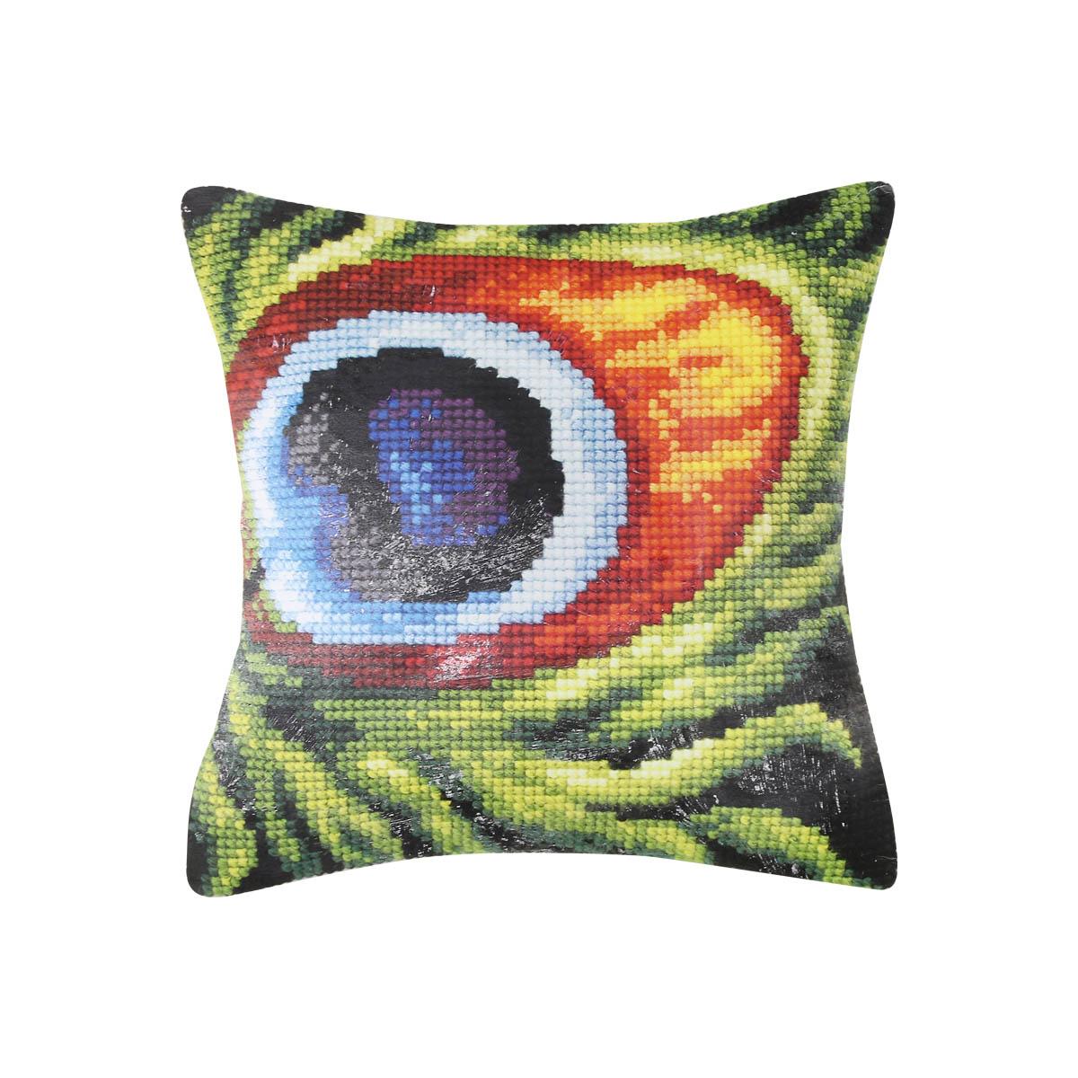 9277 ORCHIDEA Набор для вышивания подушка 40х40 см