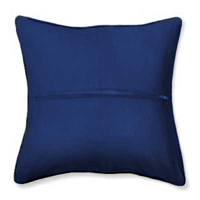 9902 ORCHIDEA Обратная сторона подушки, 40х40 см, цвет синий