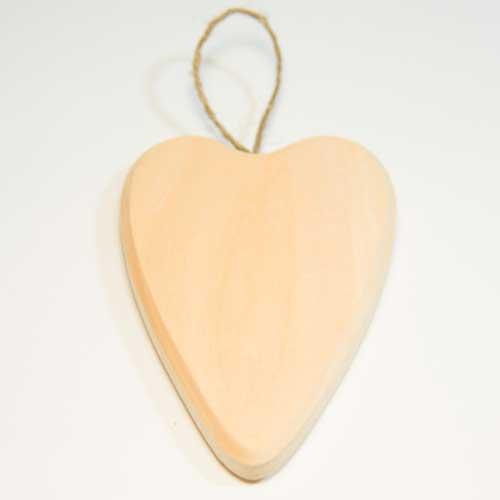 ПР-15 ПРОМЫСЕЛ Заготовка деревянная на подвесе 'Сердце' 12 см