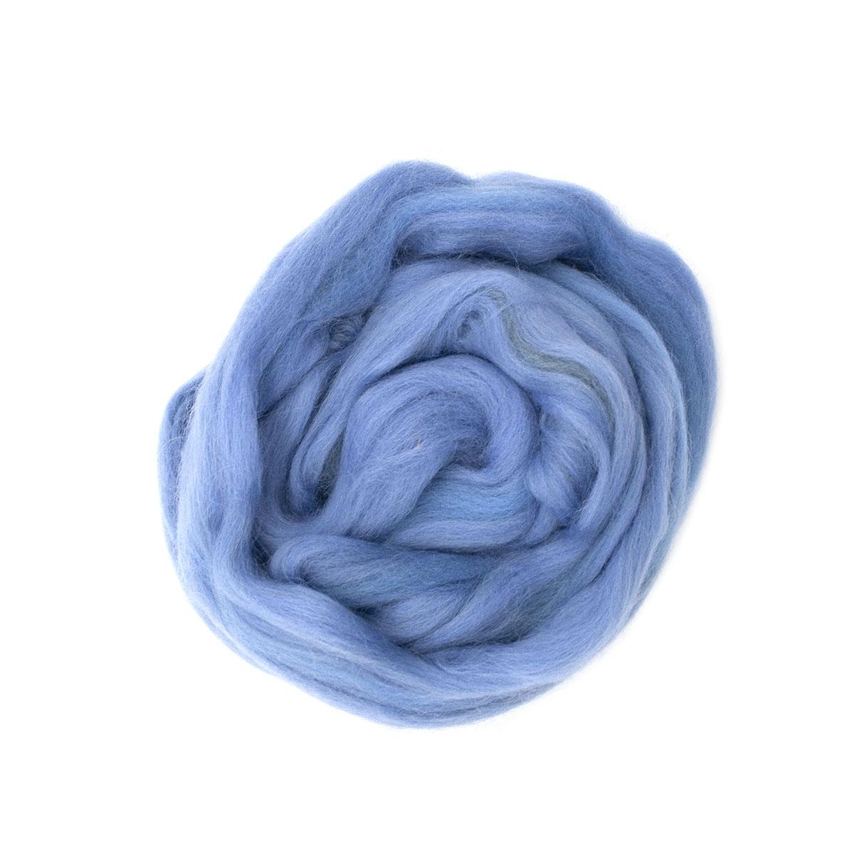 84307-2 ORCHIDEA Шерсть для валяния, цвет голубой, 50 г