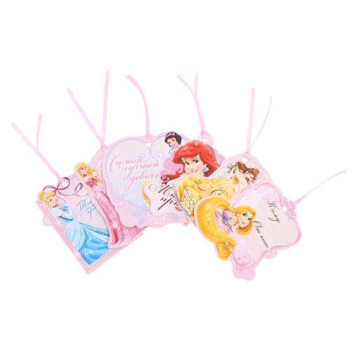 1137032 Набор мини-открыток 'Сказочный подарок' Принцессы 6шт