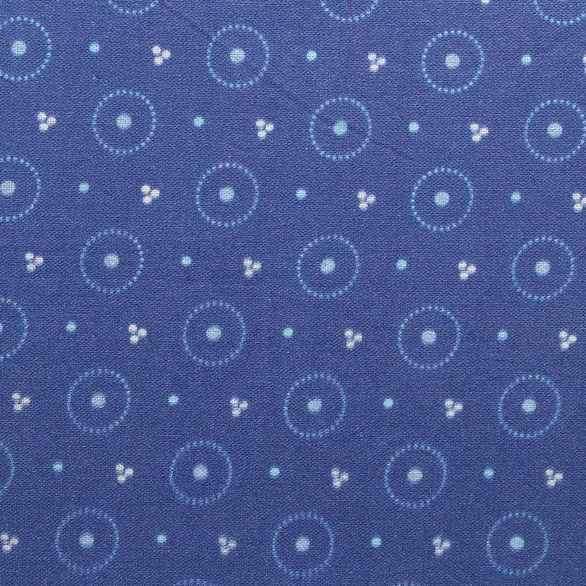 АМ592005 Ткань 'Разноцветные круги' №5, 100% хлопок, 120 г/м2, размер 48*50см