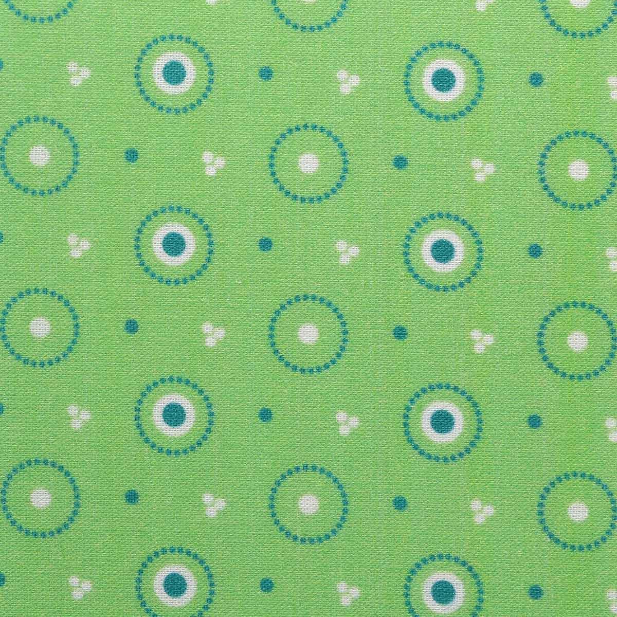 АМ592013 Ткань 'Разноцветные круги' №13, 100% хлопок, 120 г/м2, размер 48*50см