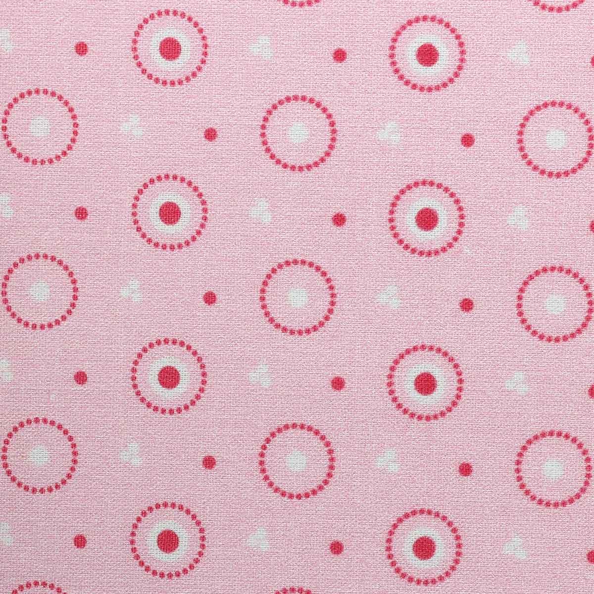 АМ592020 Ткань 'Разноцветные круги' №20, 100% хлопок, 120 г/м2, размер 48*50см