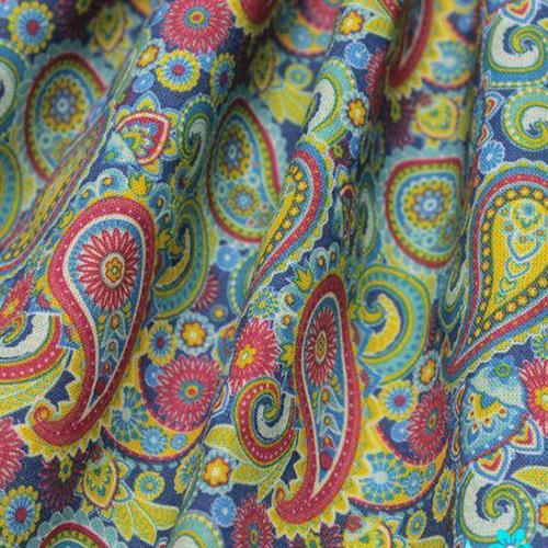 AM604001 Ткань 'Коллекция пейсли' №1, 100% хлопок, 120 г/м2, размер 48*50см