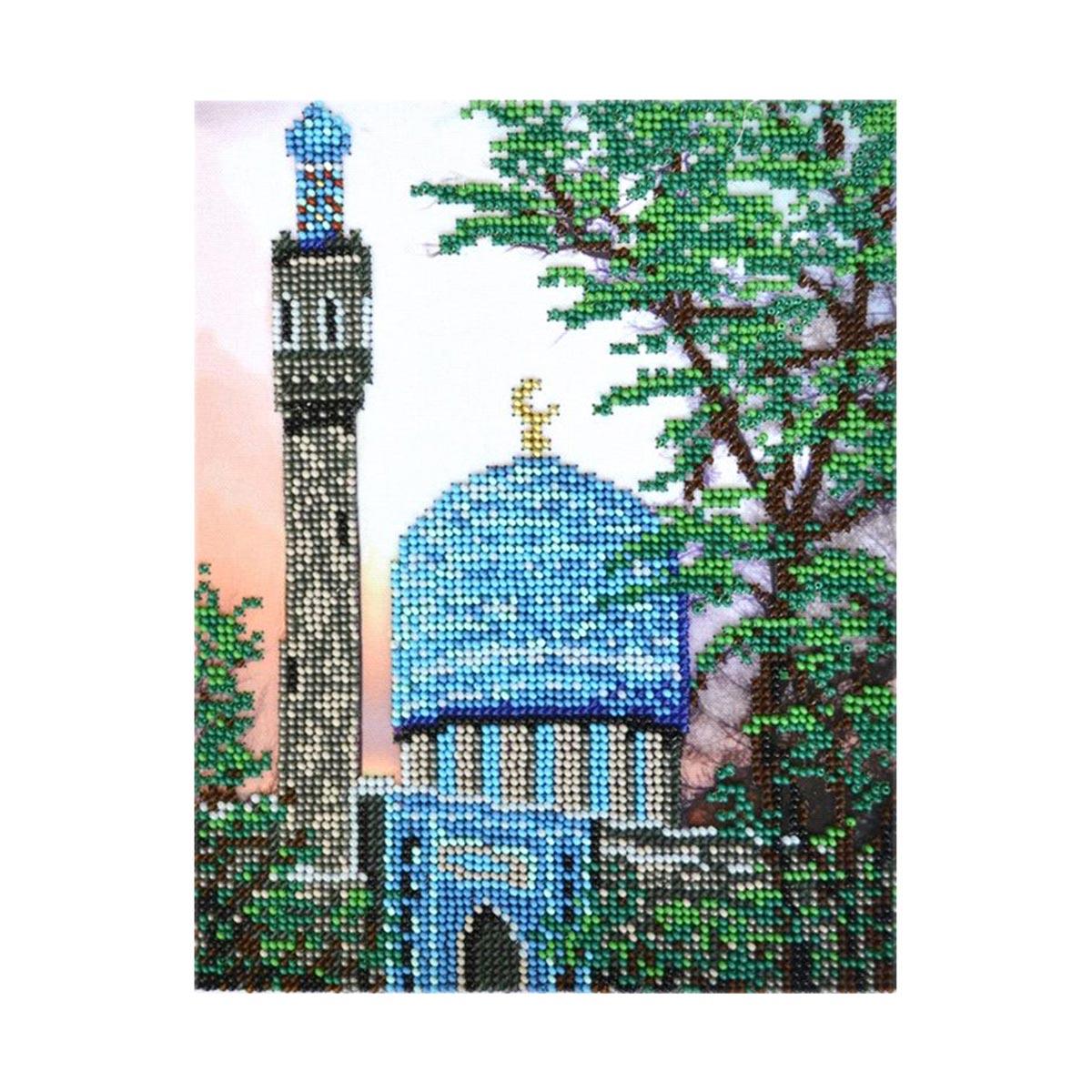 БН-3224 Набор для вышивания бисером Hobby&Pro 'Санкт-Петербургская Соборная Мечеть' 17*21,5 см