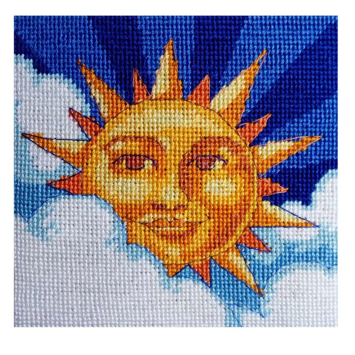 7218-DMS Набор для вышивания Dimensions 'Звезда по имени Солнце' 13*13см