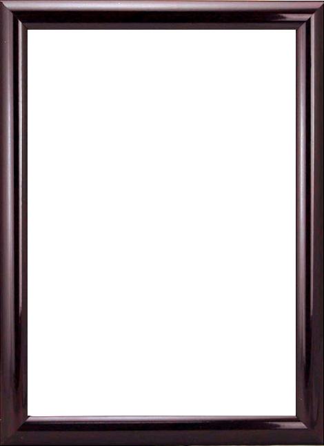 RAM114097 - рама без стекла с прозрачным дном 'АФТОГРАФ' 21*30см. цв. махагон
