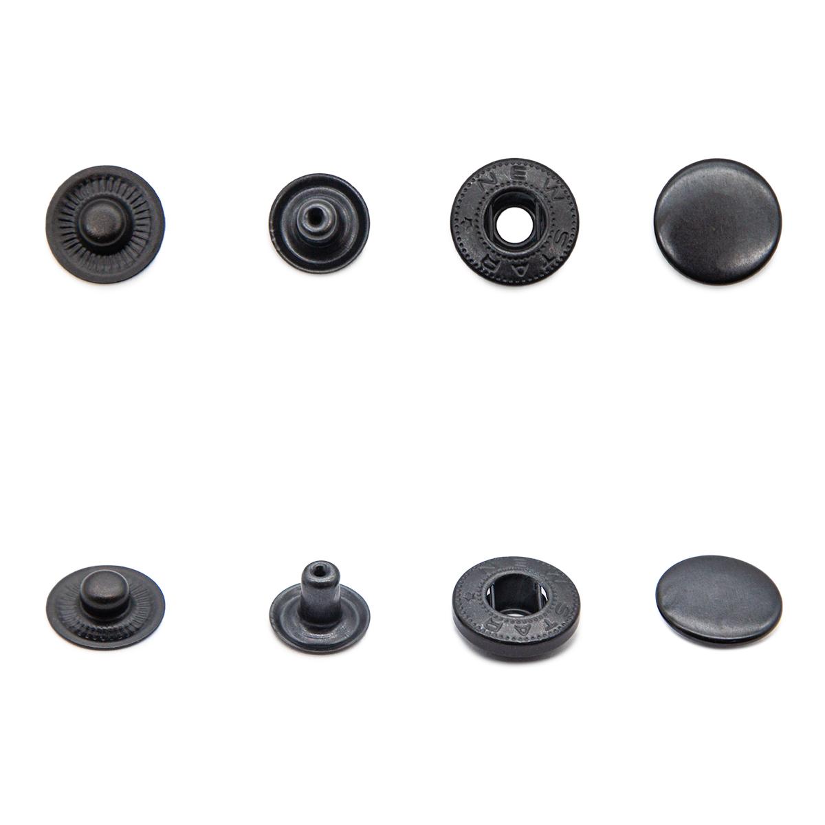 Кнопка Альфа (сталь) 15 мм