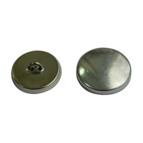 Пуговица под обтяжку №36 (23мм) металл/металл