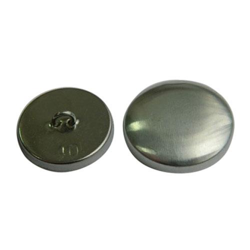 Пуговица под обтяжку №40 (25мм) металл/металл