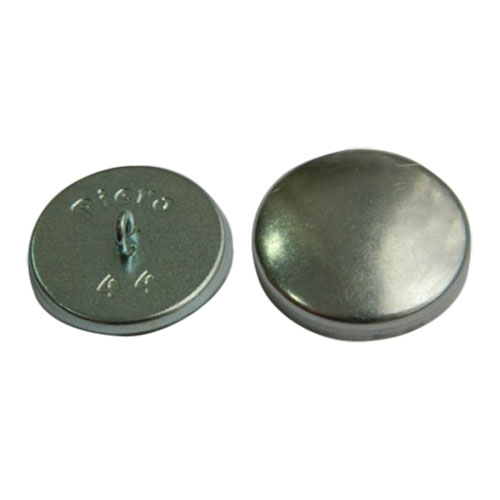 Пуговица под обтяжку №44 (28мм) металл/металл