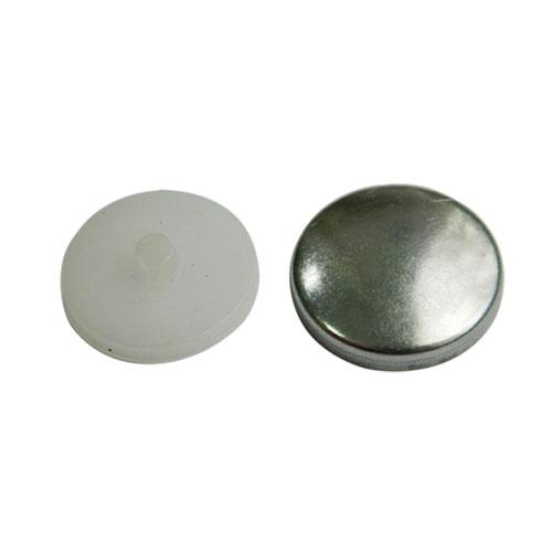 Пуговица под обтяжку №32 (20мм) металл/пластик