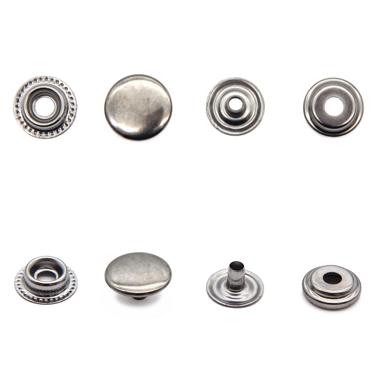 Кнопка №61 (15 мм), сталь