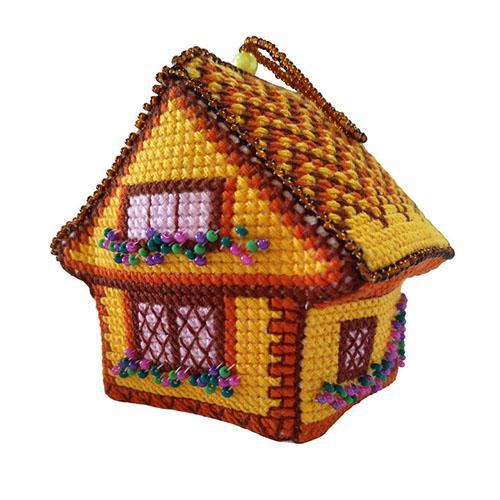 М-062 Набор для изготовления игрушки 'Солнечный домик', 8*6*8 см