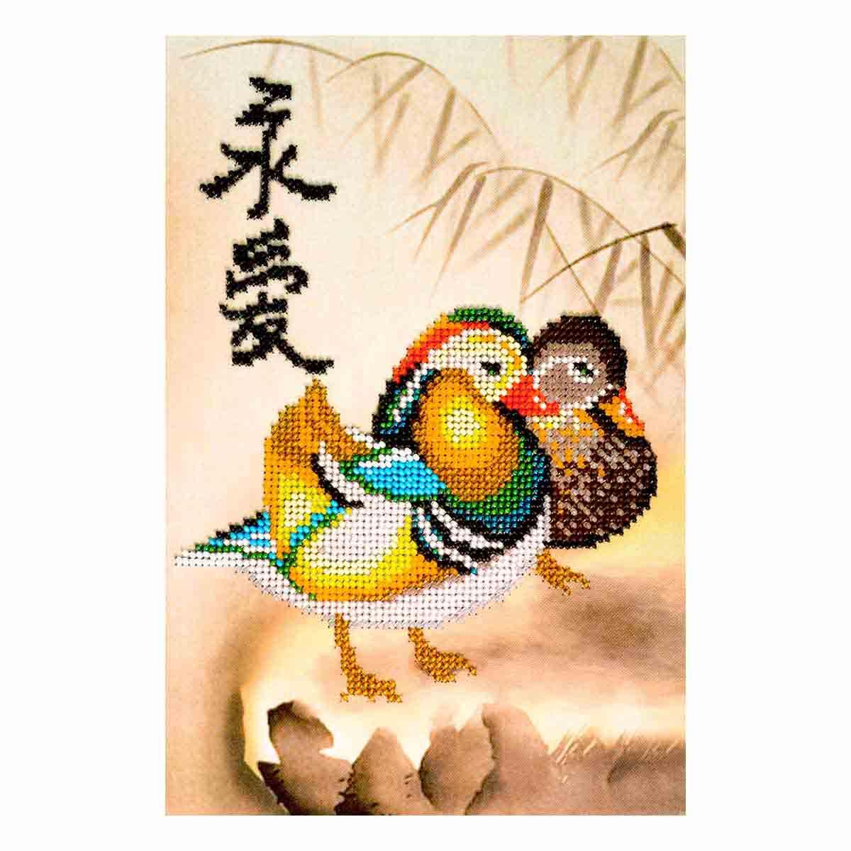 Ф-106 Набор для вышивания бисером 'Созвездие' 'Вечная любовь. Материнство', 17*24,5 см