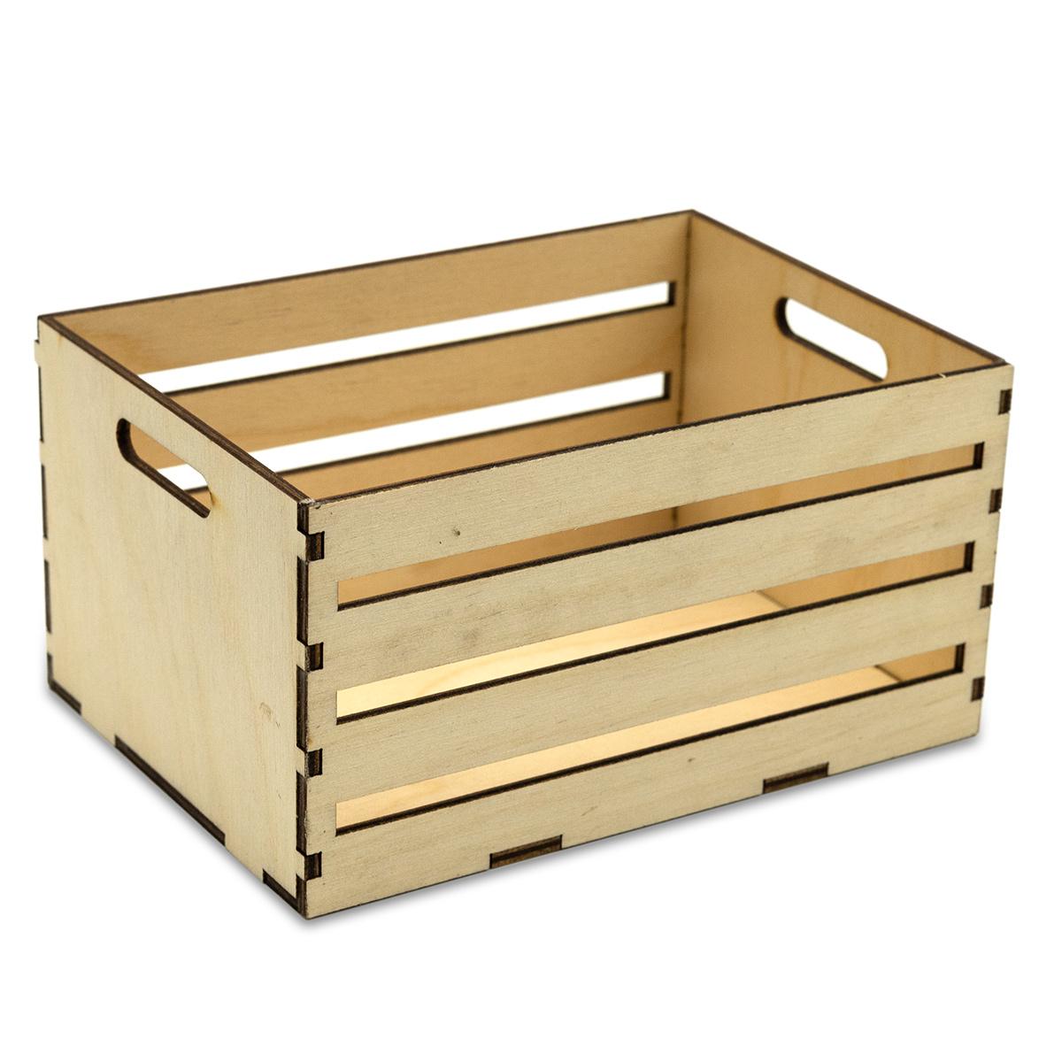 L-683 Деревянная заготовка ящичек для мелочей 15*10,5*7,5 см, Астра