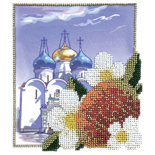 Б-0117 Набор для вышивания бисером Бисеринка 'К светлой Пасхе' 13,5*15см