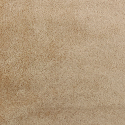 Мех М-1405 коротковорсовый 3мм, 50*50см, 100% п/э, цв. песочный (53)