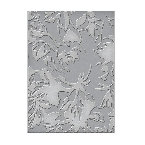 SEL-004 Папка для тиснения односторонняя Em-bossing Fold'ers 'Скатерть с розами'