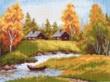 1186-1 Набор для вышивания Матренин Посад 'На хуторе' 28*37см